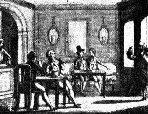 An Eighteenth Century Italian Coffee House