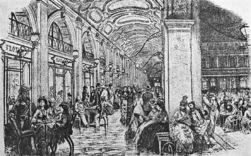 Florian's Famous Caffè in the Piazza di San Marco,