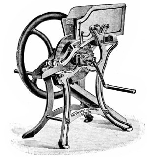 Walker's Original Disk Pulper, 1860