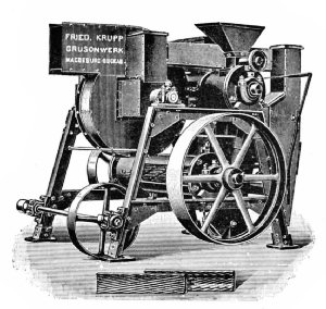 Anderson Hulling Machine (German)