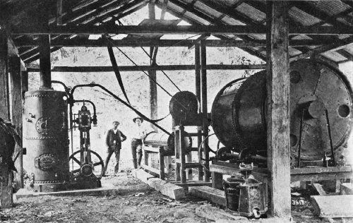 "Early Guardiola Steam Drier, ""El Canida"" Plantation, Costa Rica"