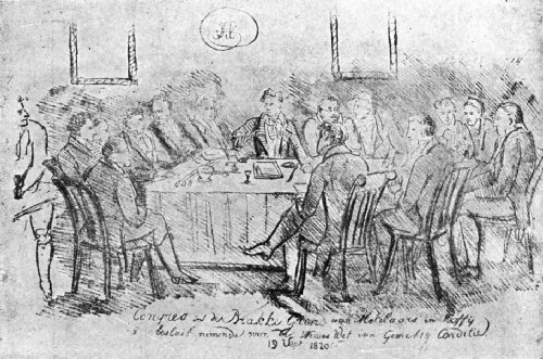 A Meeting of the Coffee Brokers of Amsterdam, 1820