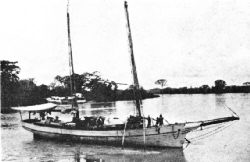 Schooner from Encontrados to Maracaibo