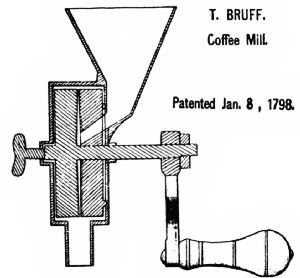 First United States Coffee-Grinder Patent