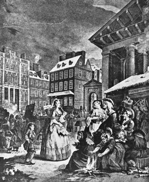 Tom King's Coffee House is Covent Garden, 1738