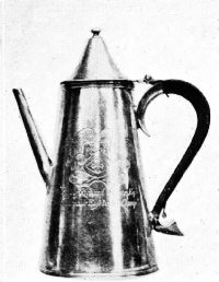 Coffee Pot, 1681