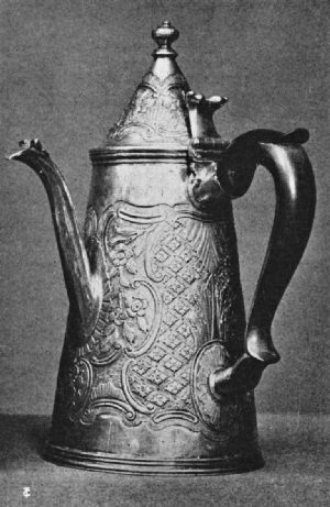 Lantern Coffee Pot, 1692