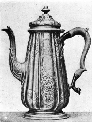 Vincent Pot, Hall-marked, London, 1738