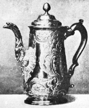 Irish Coffee Pot, 1760