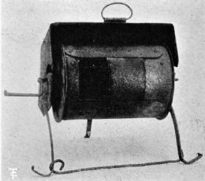 Roaster with Three-Sided Hood