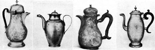 Pewter Pots of the Seventeenth and Eighteenth Centuries