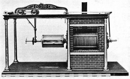 The Dakin Roasting Machine of 1848