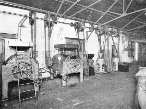 An English Gas Coffee-Roasting Plant