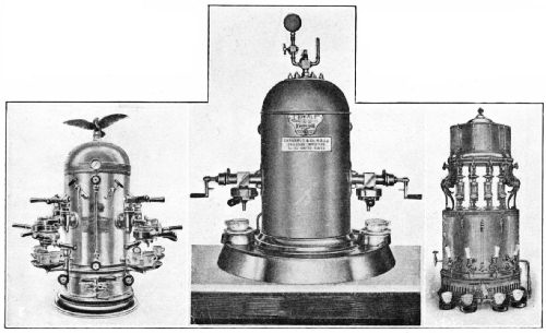 Types of Italian Rapid Coffee-Making Machines