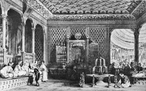 Interior of a Turkish Caffinet, Early Nineteenth