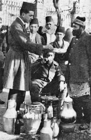 Street Coffee Service in Constantinople
