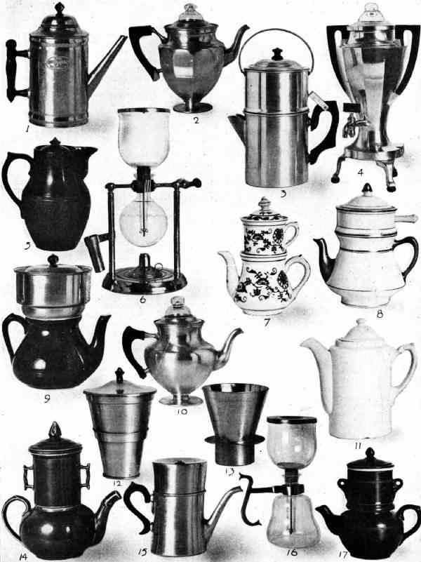 COFFEE-MAKING DEVICES USED IN THE UNITED STATES