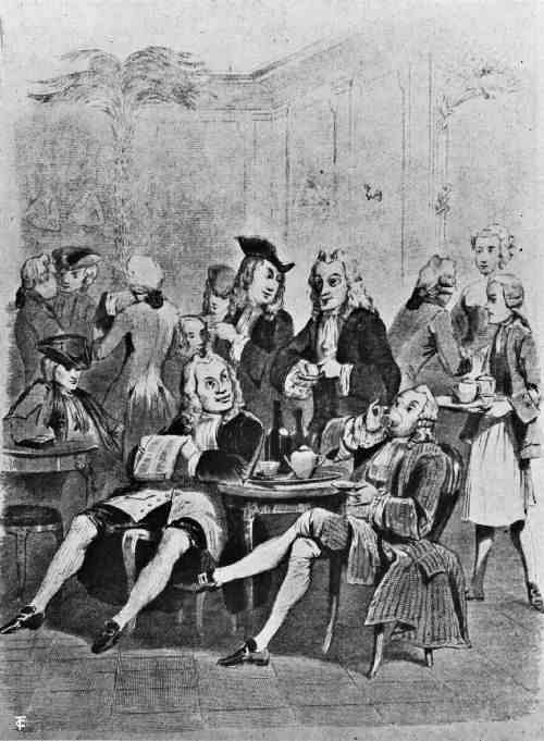 THE CAFÉ DE PROCOPE IN 1743