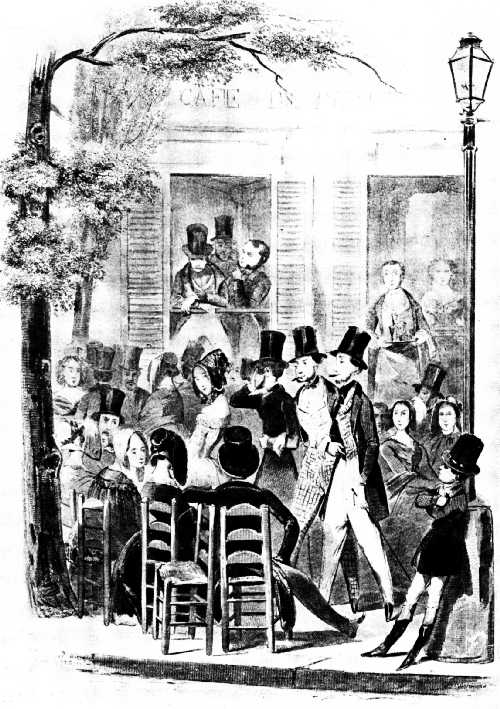 THE CAFÉ DE PARIS IN 1843