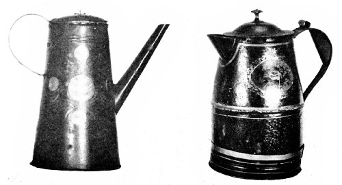Metal Coffee Pots Used in the New York Colony